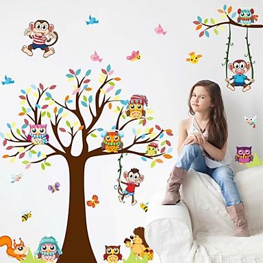 Dekorative Wand Sticker - Flugzeug-Wand Sticker Stillleben Wohnzimmer / Studierzimmer / Büro / Jungen Zimmer / Abziehbar