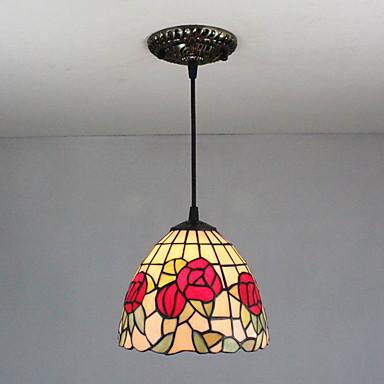 Plafond Lichten & hangers Neerwaartse Belichting - Ministijl, Tiffany Vintage Landelijk, 110-120V 220-240V Lamp Niet Inbegrepen