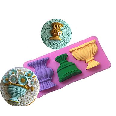 Bakeware verktøy Silikon Økovennlig / Non-Stick / baking Tool Brød / Kake / Til Småkake Cake Moulds