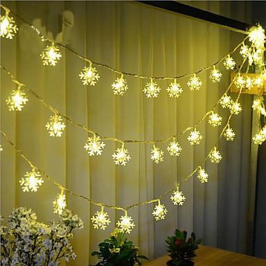 10m Leuchtgirlanden 100 LEDs LED Diode Warmes Weiß Fernbedienungskontrolle / Abblendbar / Wasserfest 220 V / Verbindbar / Farbwechsel / IP44