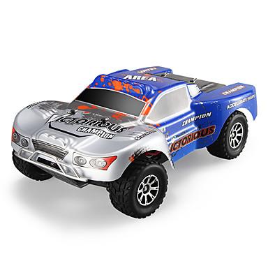 Coche de radiocontrol  WL Toys A969-B 2.4G 4WD Alta Velocidad Drift Car Off Road Car Buggy (de campo traversa) 1:18 Brush Eléctrico 70 KM