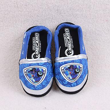 Para Meninos-Chinelos e flip-flops-Conforto-Rasteiro-Azul-Algodão-Casual