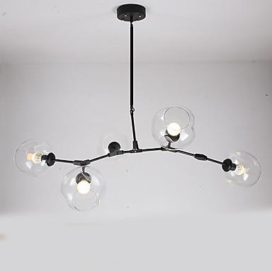 5-Light Vedhæng Lys Ned Lys - Ministil, 110-120V / 220-240V Pære ikke Inkluderet / 15-20㎡ / E26 / E27