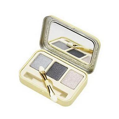 3 Øjenskyggepalette Tør Øjenskygge palet Pudder Normal Daglig makeup