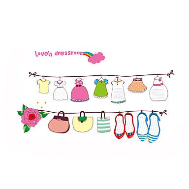 Dieren / Kerstmis / Vormen Wall Stickers Vliegtuig Muurstickers Decoratieve Muurstickers,PVC MateriaalWasbaar / Verwijderbaar /