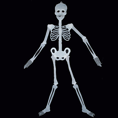 1pc halloween prop 150 centímetros noctilucent esqueleto esqueleto