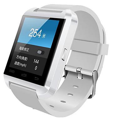 Relógio inteligente para iOS / Android Suspensão Longa / Chamadas com Mão Livre / Tela de toque / Distancia de Rastreamento / Pedômetros Monitor de Atividade / Monitor de Sono / Lembrete sedentária