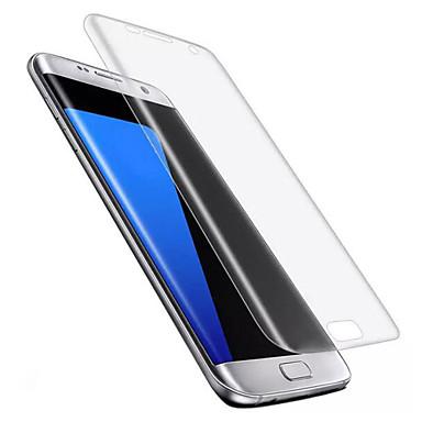 Screenprotector Samsung Galaxy voor S7 edge TPU 1 stuks Voorkant screenprotector Ultra dun Explosieveilige High-Definition (HD)