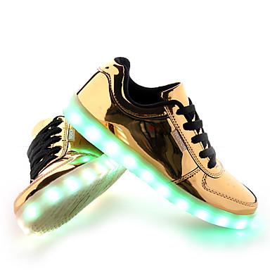 8951d00ca39 Ανδρικά LED Παπούτσια PU Άνοιξη / Φθινόπωρο Ανατομικό / αδέξιος μπότες Αθλητικά  Παπούτσια Αντιολισθητικό Χρυσό / Ασημί
