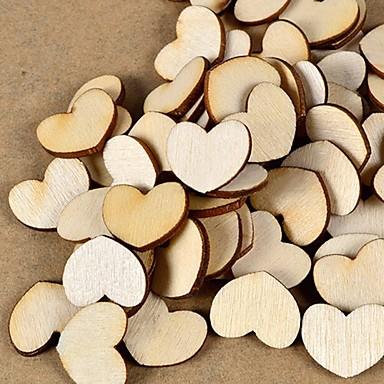 Häät / Kihlaus / mielitietty / Ystävänpäivä / Hääjuhla Puu Ympäristöystävällinen materiaali Wedding Kunniamerkit Puutarha-teema /