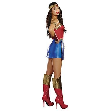 Súper Héroes / Disfraces de Temas de Películas y Televisión Disfrace de Cosplay Uniforme Sexy Terileno Accesorios de cosplay Halloween / Carnaval Disfraces de Halloween