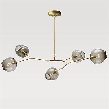 CXYlight 5-Light Sputnik Anheng Lys Omgivelseslys - Mini Stil, 110-120V / 220-240V Pære ikke Inkludert / 20-30㎡ / E26 / E27