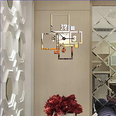 Moderne / Nutidig Kontor / Bedrift Huse Familie Skole/Studentereksamen Venner Veggklokke,Nyhet Akryl Glass 40*36 Innendørs Klokke