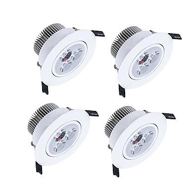 450-550lm 3 lysdioder Dæmpbar LED nedlys Varm hvid Kold hvid Naturlig hvid