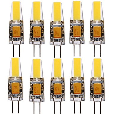 abordables Spots LED-ywxlight® 10pcs g4 1505 4w 300-400lm led lumières bi-broches blanc chaud blanc froid naturel blanc angle de faisceau 360 lumières spotlight 12-24v
