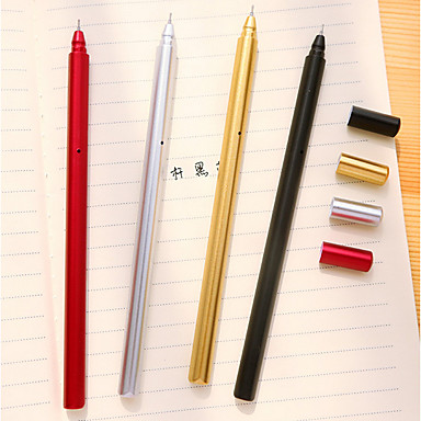 Pen Pen Gel Pennen Pen, Muovi Rood Zwart Blauw Inktkleuren For Schoolspullen Kantoor artikelen Pakje