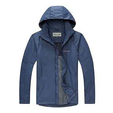 Homens Jaqueta de Trilha Térmico/Quente A Prova de Vento Resistente Raios Ultravioleta Vestível Confortável Grossa Jaquetas Softshell