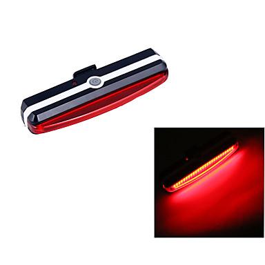 自転車用ライト / 安全ライト LED LED サイクリング 小型 / スーパーライト リチウム電池 100 ルーメン USB レッド サイクリング-照明