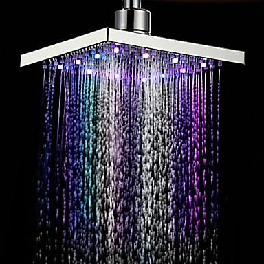 Nykyaikainen Sadesuihku Kromi Ominaisuus-Sadesuihku Ekologinen LED , Suihkupää