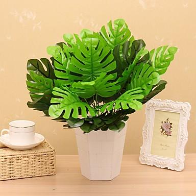 Flores Artificiales 1 Rama Estilo Pastoral Plantas Flor de Mesa