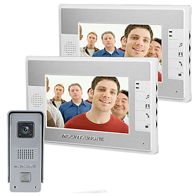 700 TV Line 92 CMOS Dørklokke System Tilkoblet Flerfamiliehuse video dørklokken