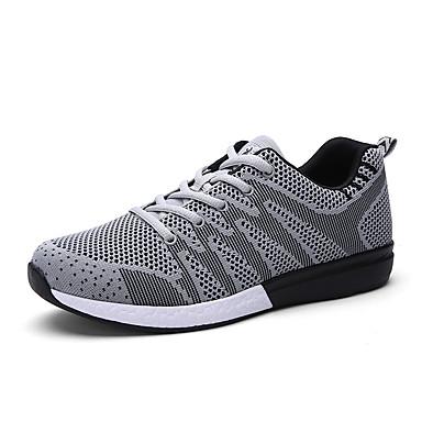 Miesten kengät Tyll Kevät Syksy Comfort Urheilukengät Jouksu varten Urheilullinen Musta Tumman sininen Harmaa Sininen
