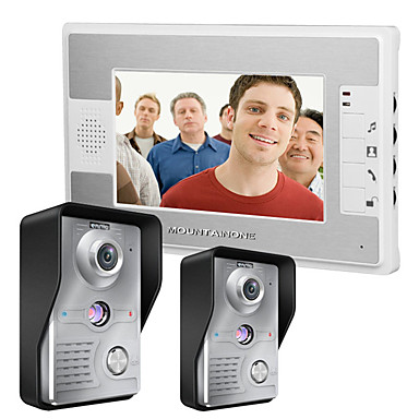 480*234 90 CMOS Doorbell System Tilkoblet Multifamily video ringeklokke