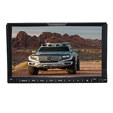 TH8820GA 7 inch 2 DIN Windows CE 6.0 / Windows CE In-Dash Car DVD Player Built-in Bluetooth / GPS / iPod for universal Support