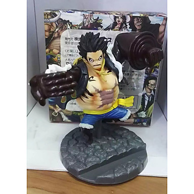 Anime Action Figurer Inspirert av One Piece Monkey D. Luffy PVC 10 CM Modell Leker Dukke