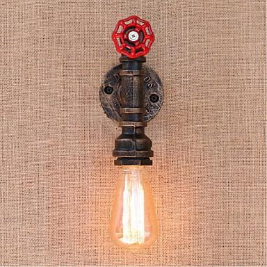ac 220v-240v 40W e27 bg819 nostalgia yksinkertainen vesijohto koristeellinen pieni seinä lamppu seinävalaisin