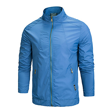 男性用 ハイキング ジャケット 防水 高通気性 トップス のために ダウンヒル ランニング 春 秋 L XL XXL