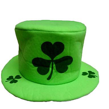 1pc de Ierse hoed voor Halloween kostuum partij willekeurige kleur