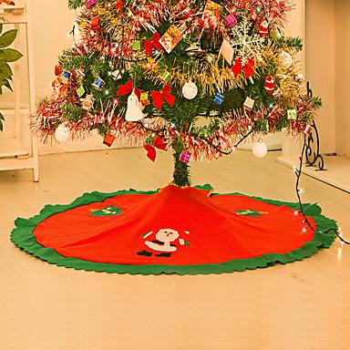Juletrematter Pyntegjenstander Blomst / Botanikk Ferie Inspirerende tekstil Jul Originale Halloween Fest julen Dekor