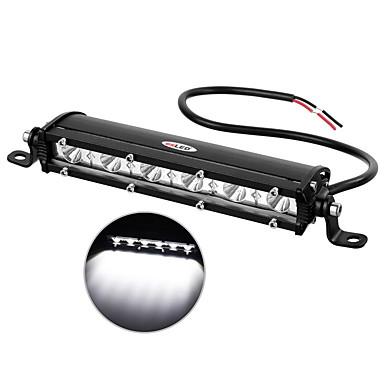 otolampara 1 pieza dc 9v - 32v super slim fila 18w 1800lm led barra de luz de niebla