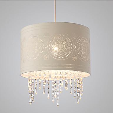 DengLiangZhiXin Luzes Pingente Luz Ambiente - Cristal, Designers, 110-120V / 220-240V, Branco Quente, Lâmpada Não Incluída / 15-20㎡