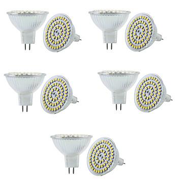 3W GU5.3(MR16) LEDスポットライト MR16 60 SMD 3528 250-300 lm 温白色 クールホワイト 3000/6000 K 調光可能 装飾用 V