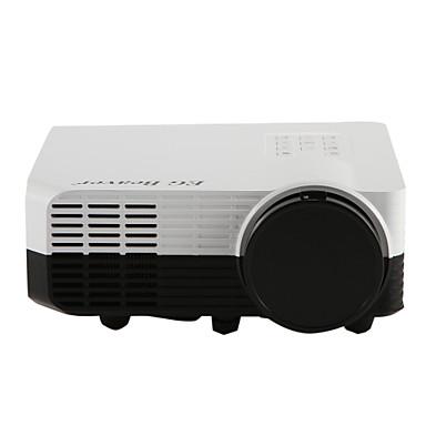 EG BEAVER LED2018 LCD Mini Proyector LED Proyector 1500Lumens Apoyo WUXGA (1920x1200) / 1080P (1920x1080) / WXSGA+ (1366x768) 60-150inches Pantalla / SVGA (800x600) / WXGA (1280x800) / XGA (1024x768)