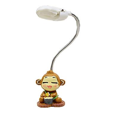 2016 uusi tuhma söpö apina yövalo luova joustava mini lamppu opiskelija yöpöytälamppu