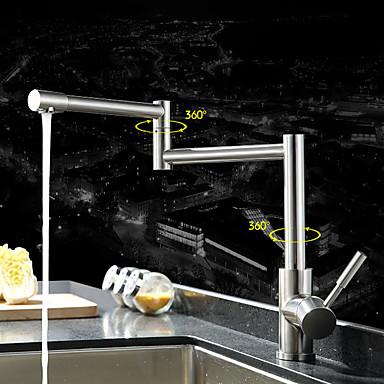 Kitchen Faucet - Nykyaikainen Moderni Ruostumaton teräs Pot Filler Standard nokka Pesuallas