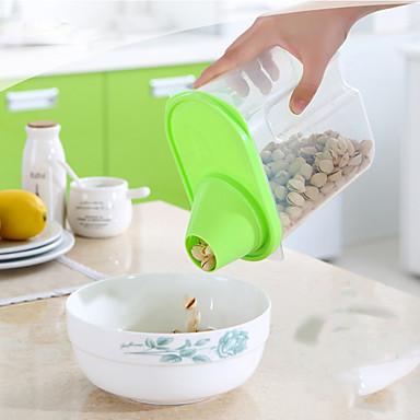 1 Keittiö Muovi Purkit ja säilytys