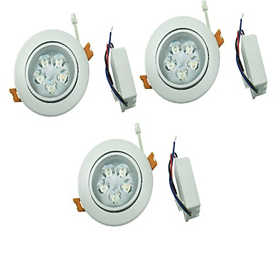 YouOKLight 450lm 5 LED Luces LED Descendentes Blanco Cálido Blanco Fresco AC 100-240V