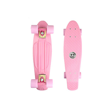 22 tommer (ca. 56cm) Cruisers Skateboard PP (Polypropen) Lys Rosa