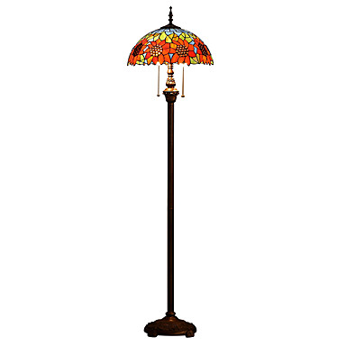 60W Tiffany Jalkalamppu , Ominaisuus varten LED / Silmäsuoja , kanssa Muu Käyttää Päälle/pois -kytkin Vaihtaa