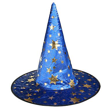 1pc halloween partij decor geschenk nieuwigheid terroristische ornamenten cosplay hoed willekeurige kleur