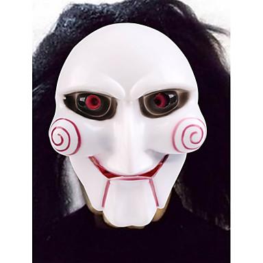 voordelige Maskers voor de feestdagen-Halloweenmaskers Practical joke Gadget Hallloween figuren Carnavalsmaskers Muovi Nieuwigheid Clown Filmpersonage Horrorthema Volwassenen Unisex Jongens Meisjes