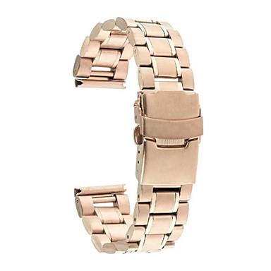 Klokkerem til Gear S2 Gear S2 Classic Samsung Galaxy Klassisk spenne Moderne spenne Metall Rustfritt stål Håndleddsrem