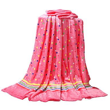 フランネル,純色 純色 ポリエステル100% 毛布