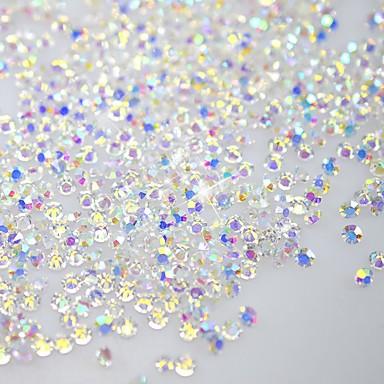 1 pcs Glitters / Fashion Nail Art Design Diário