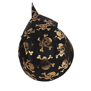 hallowmas 1pc tampa do crânio do pirata decorar hallowmas festa à fantasia