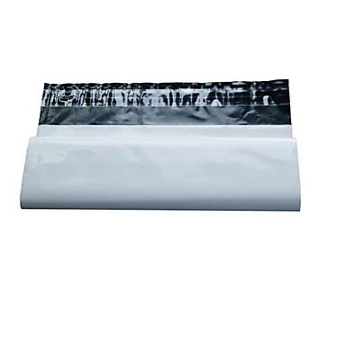 valkoinen ilmaista paketti pussi koko 28 * 42cm (nippu 100)